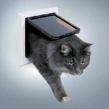 """Trixie / Трикси 3867 Дверца для кошки """"FreeCat de Luxe"""" 17,7х18,7см"""