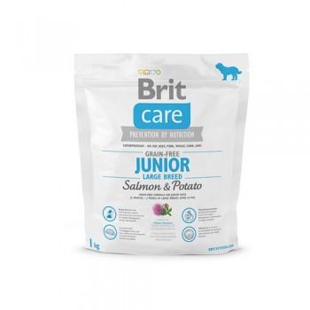 Brit / Брит Care Salmon & Potato Junior LargeBreed беззерн, для юниоров крупн, Пород, 1 кг