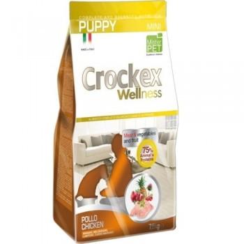 CROCKEX / КРОКЕКС Wellness сухой корм для щенков мелких пород 2 кг курица с рисом MCF2602