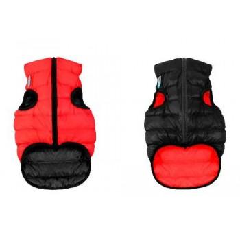 AiryVest / ЭйриВест курточка двухсторонняя, размер S 35, красно-черная