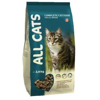 All Cats / Олл Кэтс д/кош. взрослых пп, 2,4 кг