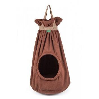 TitBit / ТитБит Домик подвесной коричневый h 70 см