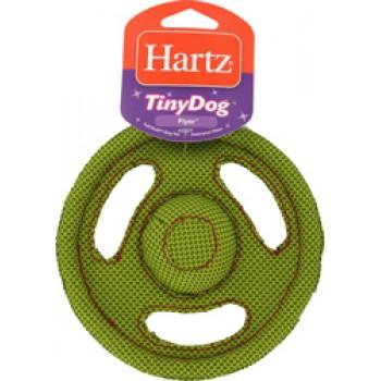Hartz / Хартц Игрушка д/собак - Летающий диск, очень прочная, мягкая, Tiny Dog Tuff Stuff Flyer dog toy
