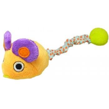 """Petstages / Петстейджес игрушка для кошек Interacting """"Мышка"""" заводная вибрирующая 12 см"""