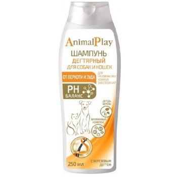 Animal Play / Энимал Плэй Шампунь д/собак и кошек Дегтярный 250мл