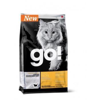 Go! / Гоу! для котят и кошек с чувств. пищеварением со свежей уткой 0,23 кг