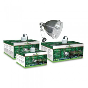 Repti-Zoo / Репти-Зоо RL02 светильник металлический с защитной сеткой 15
