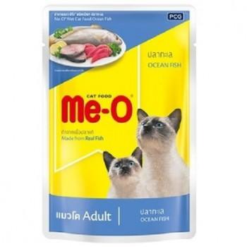 Ме-О Adult пауч д/кошек №3 Океаническая рыба в желе 80г 61809