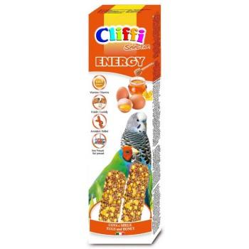 Cliffi / Клиффи Лакомства для волнистых попугаев экзотических птиц: палочки яйцами медом Selection Energy PCOA436