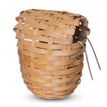 Triol / Триол Гнездо-корзина для птиц из лозы, d90*100мм