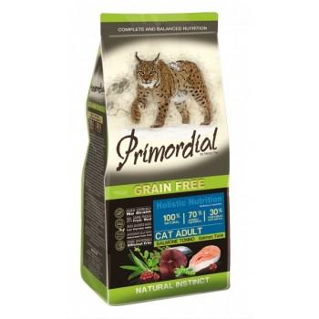PRIMORDIAL / ПРИМОРДИАЛ Корм сух 2 кг для кошек б/зерн. лосось тунец