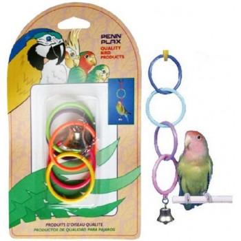 Penn-Plax / Пен-Плакс Игрушка для птиц Олимпийские кольца средние (1х12) ВА525