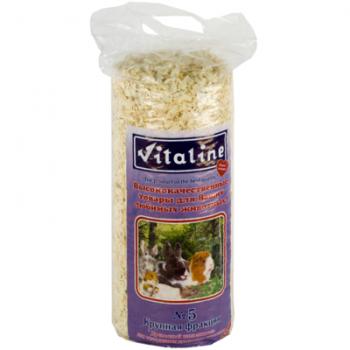 Опилки Vitaline / Виталайн №5 5,2л (древесный Наполнитель №5)