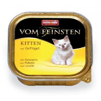 Animonda Vom Feinsten Kitten конс.100 гр.с домашней птицей для котят 83449
