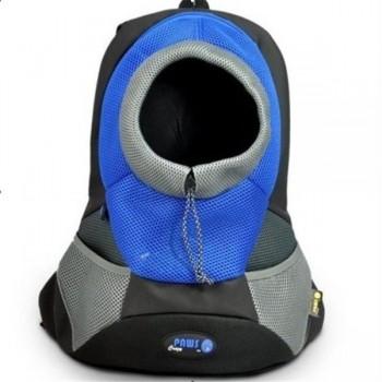 Crazy Paws Sport De Lux Переноска-рюкзак S, 37х14х36,5см, до 3кг, синий DPETC021-BL (4439)