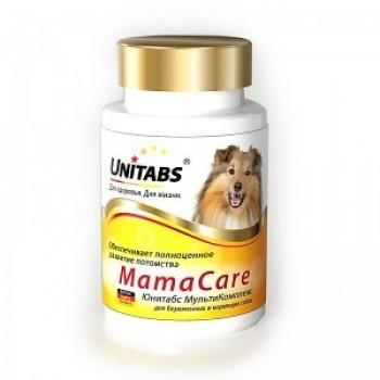 Unitabs / Юнитабс MamaCare с В9 для беременных собак 100 таб.