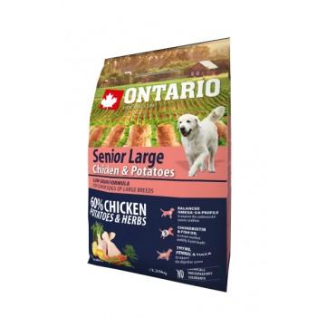 Ontario / Онтарио для пожилых собак крупных пород с курицей и картофелем 2,25 кг