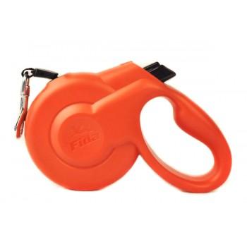 Fida / Фида Styleash Стильная рулетка 5м с выдвижной лентой для собак средних пород до 25 кг красная 5135754