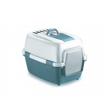 Stefanplast / Стефанпласт Туалет закрытый Wivacat, с угольным фильтром, синий, 55*40*40см
