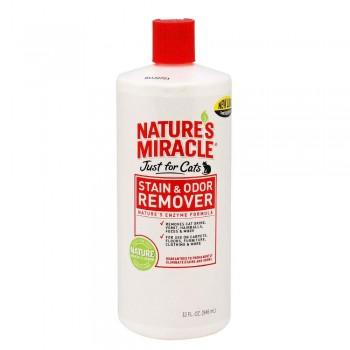 8in1 уничтожитель пятен и запахов от кошек NM JFC S&O Remover универсальный 945 мл