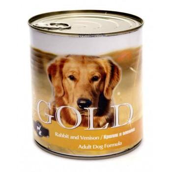 """Nero Gold / Неро Голд для собак """"Кролик и оленина"""" 0,81 кг"""