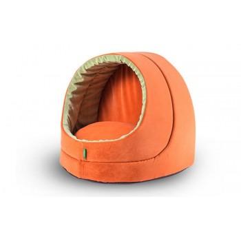 TitBit / ТитБит Домик оранжевый 35х40х35 см
