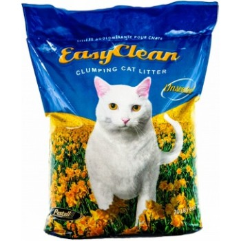 Easy Clean Комкующийся Наполнитель без запаха (Unscented) 9 кг.
