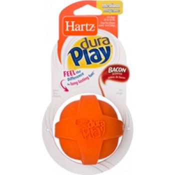 Hartz / Хартц Игрушка д/собак - Мяч рельефный, латекс с наполнителем, запах бекона, средний Dura Play Ball - Medium