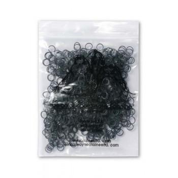 Lainee / Лайни резинки латекс S черные 1/4 уп.