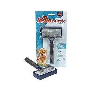 Trixie / Трикси Щетка д/пуделя с каплей, пластиковая ручка 17*10см (блистер) 2301
