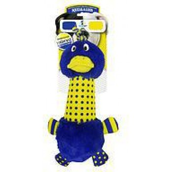 """R2P игрушка для собак High-Viz """"Утка"""" текстиль с пластиковой бутылкой внутри 30 см"""