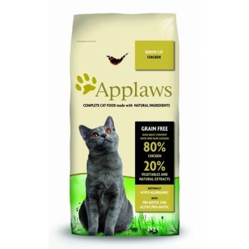 """Applaws / Эпплаус для Пожилых кошек """"Курица/Овощи: 80/20%"""" 2 кг"""