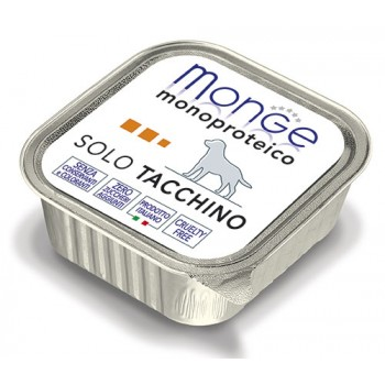 Monge / Монж Dog Monoproteico Solo консервы для собак паштет из индейки 150г