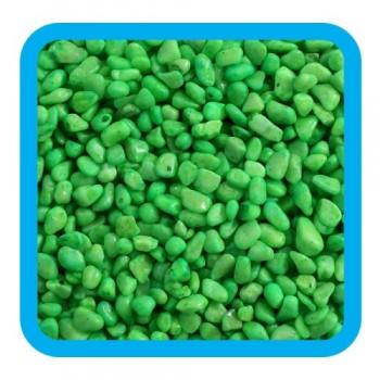 Laguna / Лагуна 20609D Грунт натуральный цветной зеленый, 5-8мм