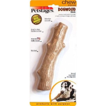 Petstages / Петстейджес игрушка для собак Dogwood палочка деревянная 22 см большая