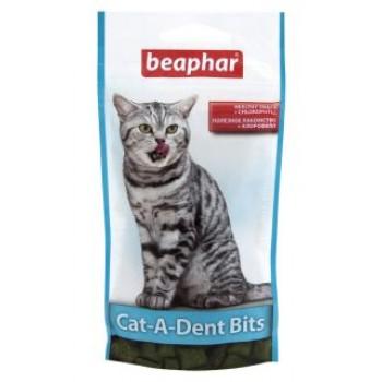 Beaphar / Беафар Подушечки «Cat-a-Dent-Bits» для чистки зубов у кошек, 35г