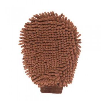 Dog Gone Smart / Дог Гон Смарт перчатка для груминга Grooming Mitt, 25*18 см, коричневая