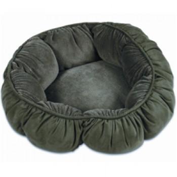 Petmate / Петмейт Лежак для кошек, с мягкими объемными бортиками, круглый, диаметр 46 (см)