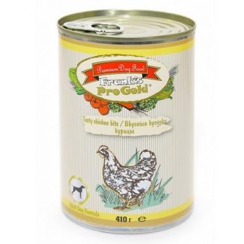 """Frank's ProGold / Франкс ПроГолд Консервы для собак """"Вкусные кусочки курицы"""" 0,41 кг"""