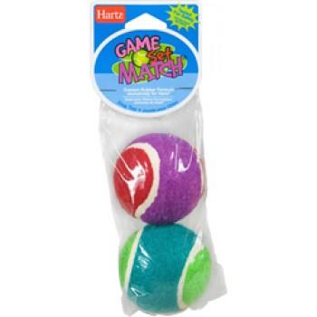 Hartz / Хартц Игрушка д/собак - Два теннисных мяча, маленькая Game - Set - Match Dog Toy