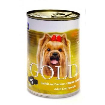 """Nero Gold / Неро Голд для собак """"Кролик и оленина"""" 0,41 кг"""