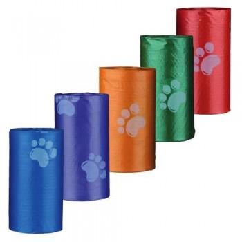 Trixie / Трикси 22844 Пакеты для уборки за собаками 3л 8 рулонов по 20 шт цветные для всех диспенсеров