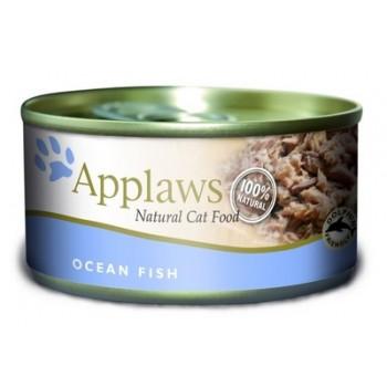 Applaws / Эпплаус Консервы для кошек с Океанической рыбой 0,07 кг
