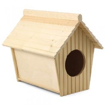 Gamma / Гамма Дом-купалка для шиншил деревянный, 320*255*300мм
