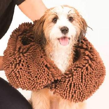 Dog Gone Smart / Дог Гон Смарт полотенце для собак SHAMMY, 33*79 см, коричневое