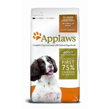 """Applaws / Эпплаус для Собак малых и средних пород """"Курица/Овощи: 75/25%"""" 7,5 кг"""