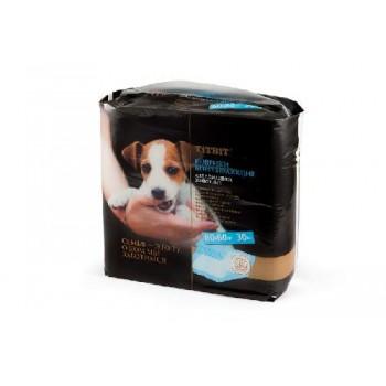 TitBit / ТитБит Коврики впитывающие для ухода за домашними животными 60х60 см (30 шт)