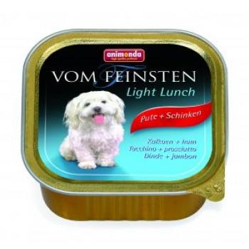 Animonda Vom Feinsten Classic конс. 150 гр. Облегченное меню для собак с индейкой и ветчиной (ламистер) 82971