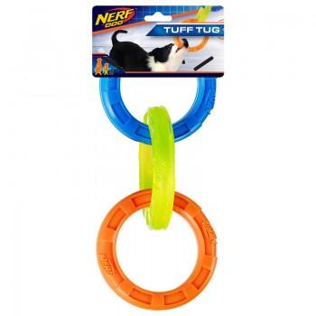 Nerf / Нёрф Игрушка Кольца-грейфер, 27 см, (синий/оранжевый/зеленый)