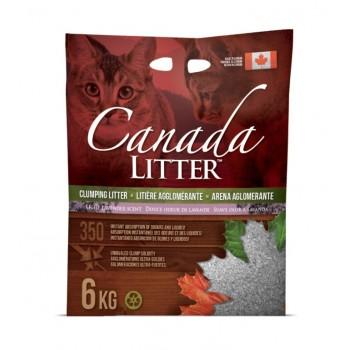 "Canada Litter Канадский комкующийся наполнитель ""Запах на Замке"", Лаванда"